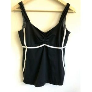 Lululemon Tank 6 Black Sheer Bra Padding Insert